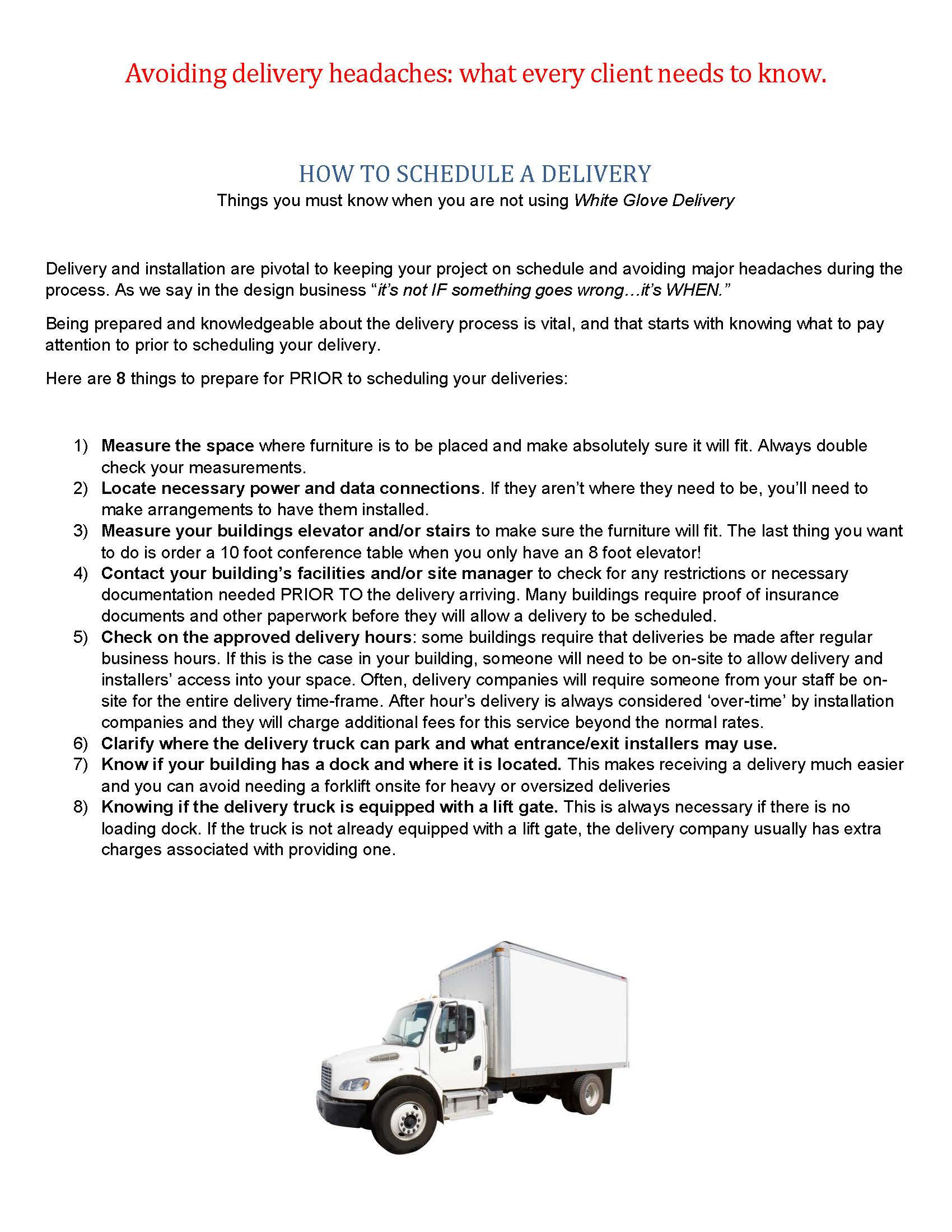 Client Guide to Commerical Furniture Deliveries_Page_1